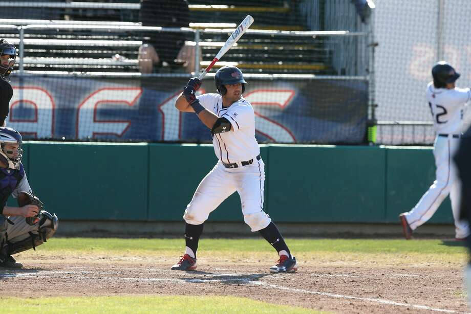 Kevin Milam of St. Mary's hit .313 with 12 home runs and 55 RBIs last year. He was WCC Freshman of the Year. Photo: Tod Fierner/Saint Mary's College Athletics