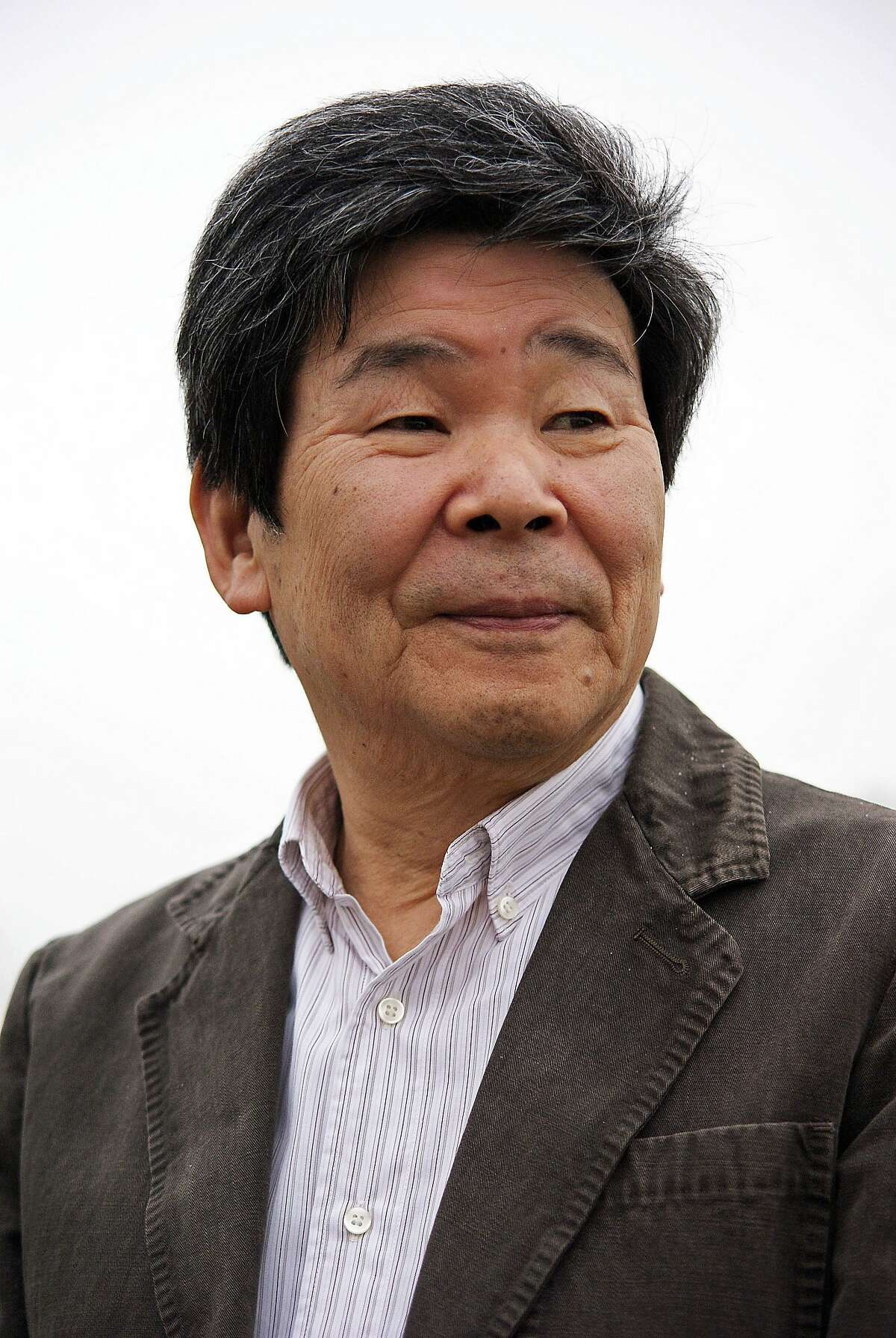 """Isao Takahata in 2013 promoting his latest film, """"The Tale of the Princess Kaguya."""" Photo: Studio Canal UK"""