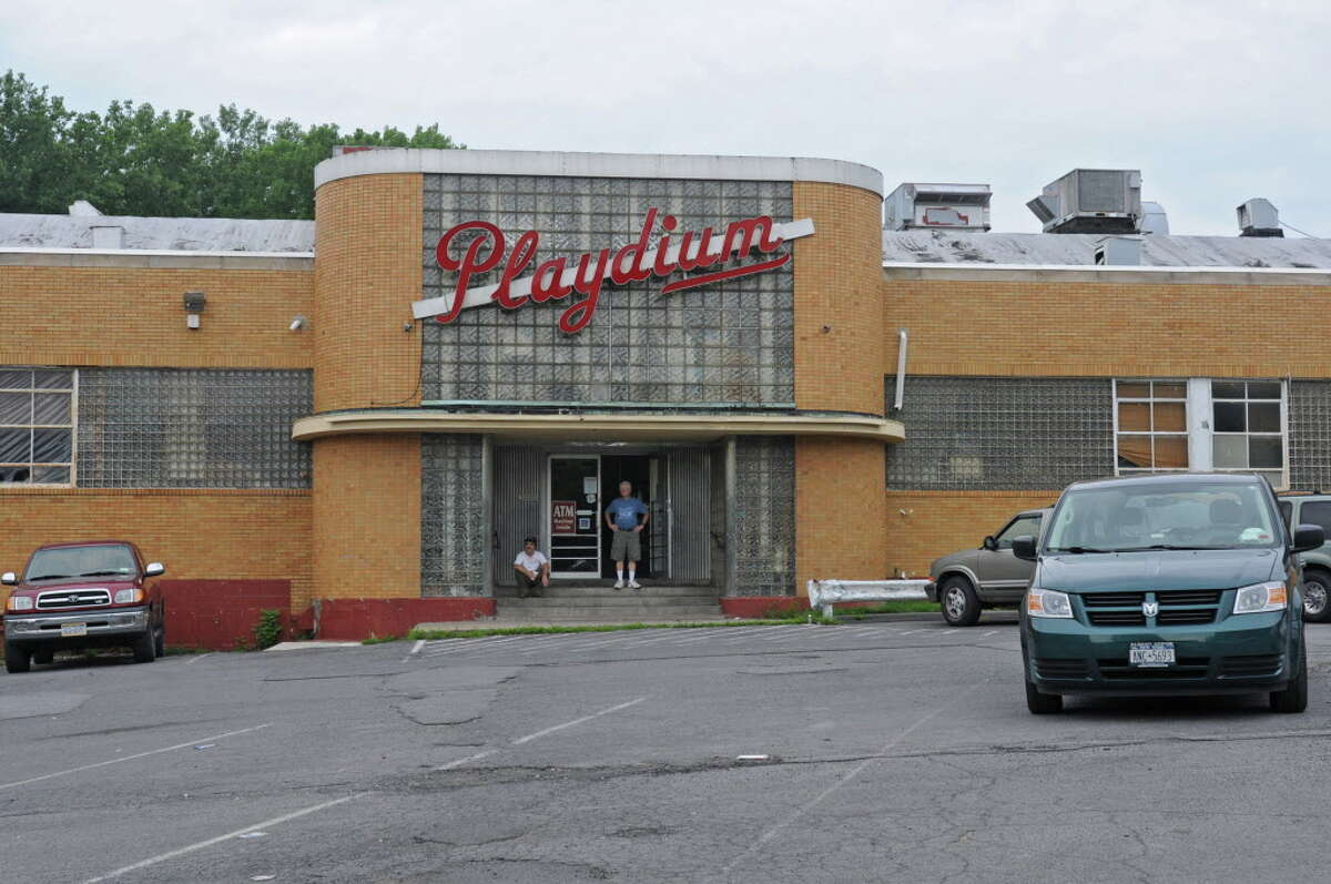 The Playdium bowling alley in the Pine Hills neighborhood in Albany, N.Y. Tuesday June 28, 2011. (Lori Van Buren / Times Union)