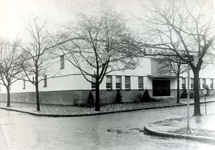 Times Union bowling -- The new Schade's Academy, site of the first Professional Bowlers Association tournament in 1959. (Times Union archive)