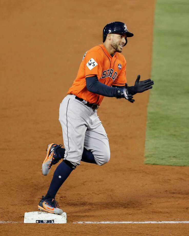 World Series MVP George Springer, Astros avoid arbitration with new deal