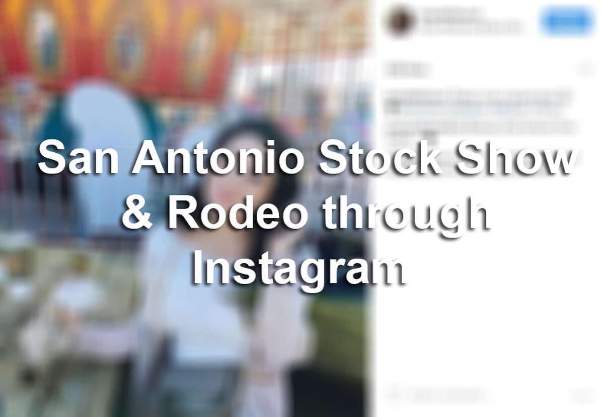 Seen on Instagram: San Antonio Stock Show & Rodeo 2017