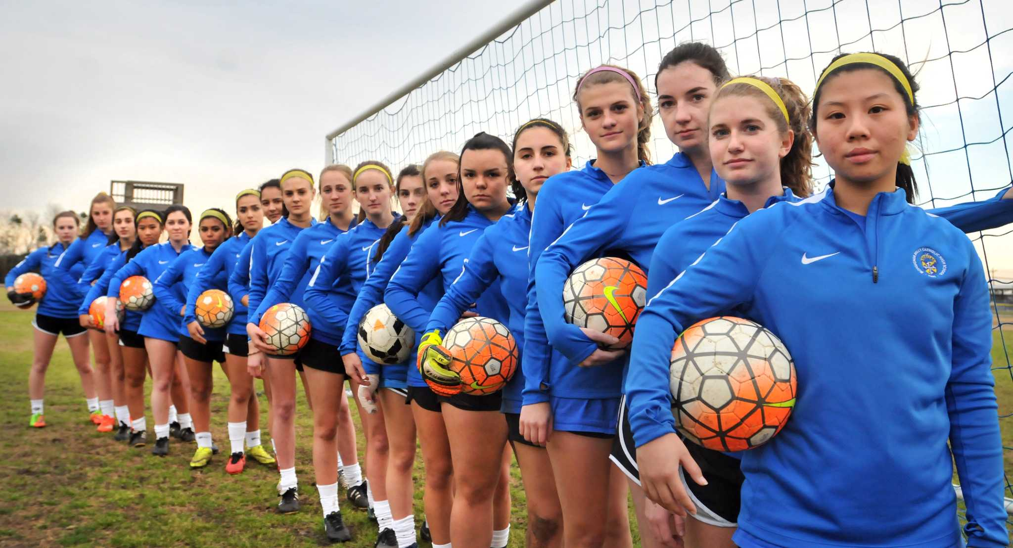 Kelly girl's soccer thriving on fast, aggressive offense