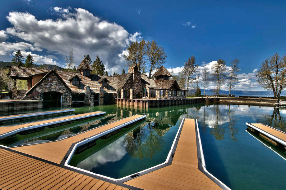 "Lake Tahoe's Fleur du Lac Estates was made famous as the lakeside backdrop in ""The Godfather II."" Residence 13 is currently on the market for $3.749 million. Photo: Sierra Sotheby's International Realty"