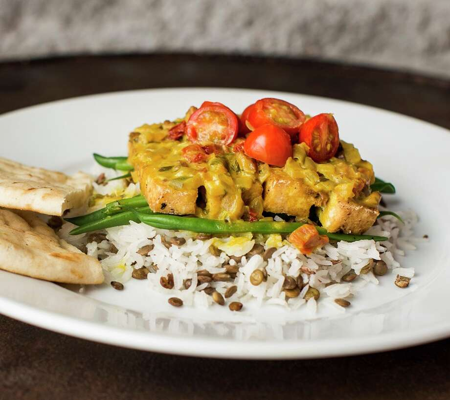 Hungry's restaurants (Rice Village, Memorial) have launched new daily vegan menu items. Shown: Tuscan tofu. Photo: Julie Soefer