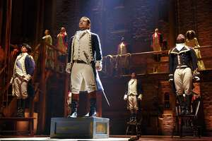 """Hamilton"" makes its San Antonio debut in May of 2019 at the Majestic Theatre as part of the Broadway in San Antonio season."