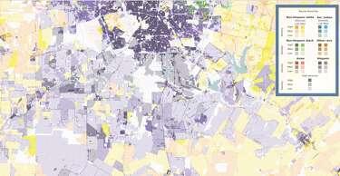 Maps show racial diversity of San Antonio-area neighborhoods ... Demographic Map Of San Antonio on demographic map of paris, demographic map of bronx, demographic map of jerusalem, demographic map of santa fe, demographic map of florida, demographic map of beverly hills, demographic map of mississippi, demographic map of new york city, demographic map of phoenix, demographic map of myrtle beach, demographic map of denton, demographic map of dayton, demographic map of usa, demographic map of united states,