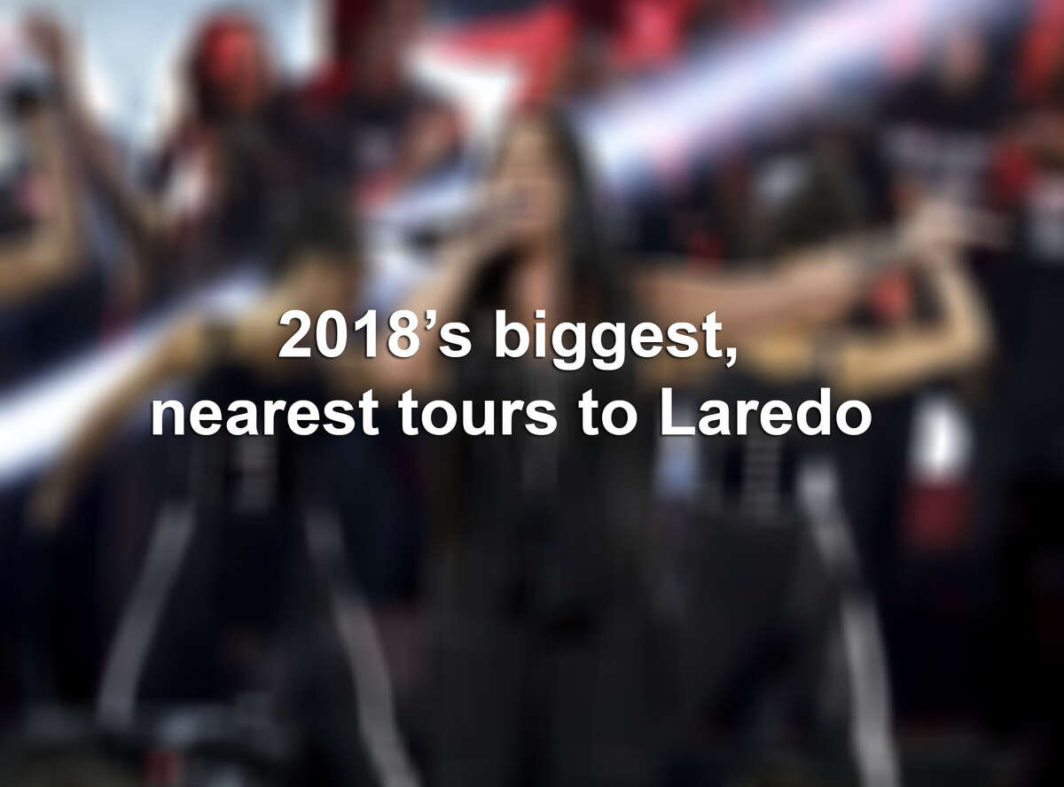 Click through the gallery to see some of the biggest stars coming within driving distance of Laredo this year.