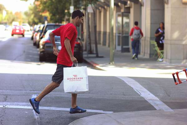 Gig workers deliver peanuts to DoorDash, Instacart and