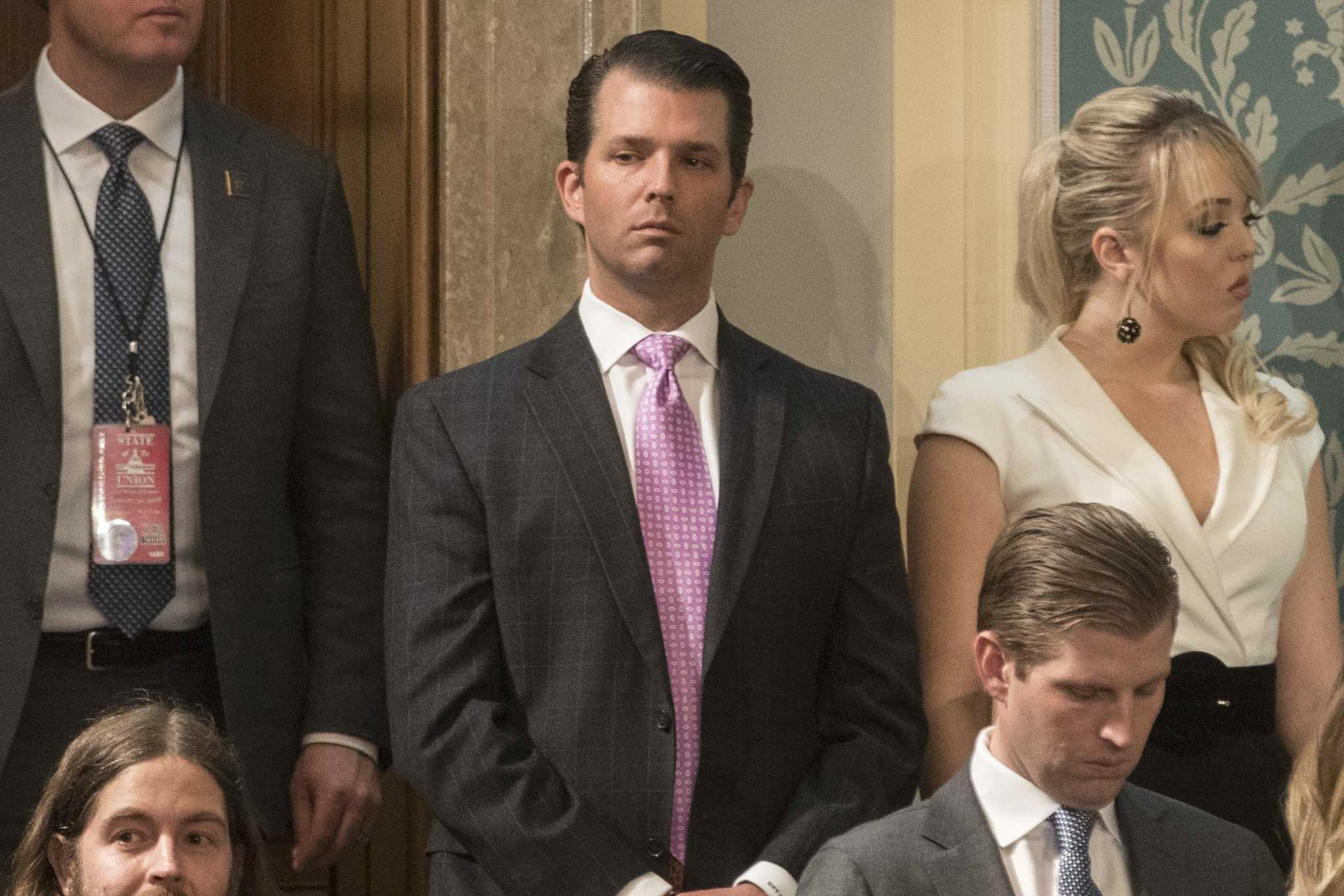 trump s son endorses george p bush in reelection bid for land