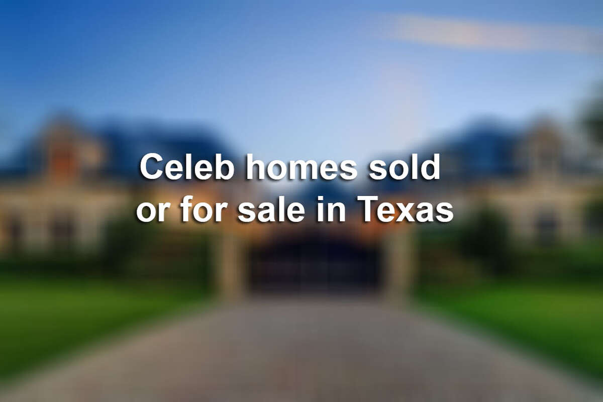 Click through the gallery to see celebrities homes that been or still are on the market in the Lone Star State.