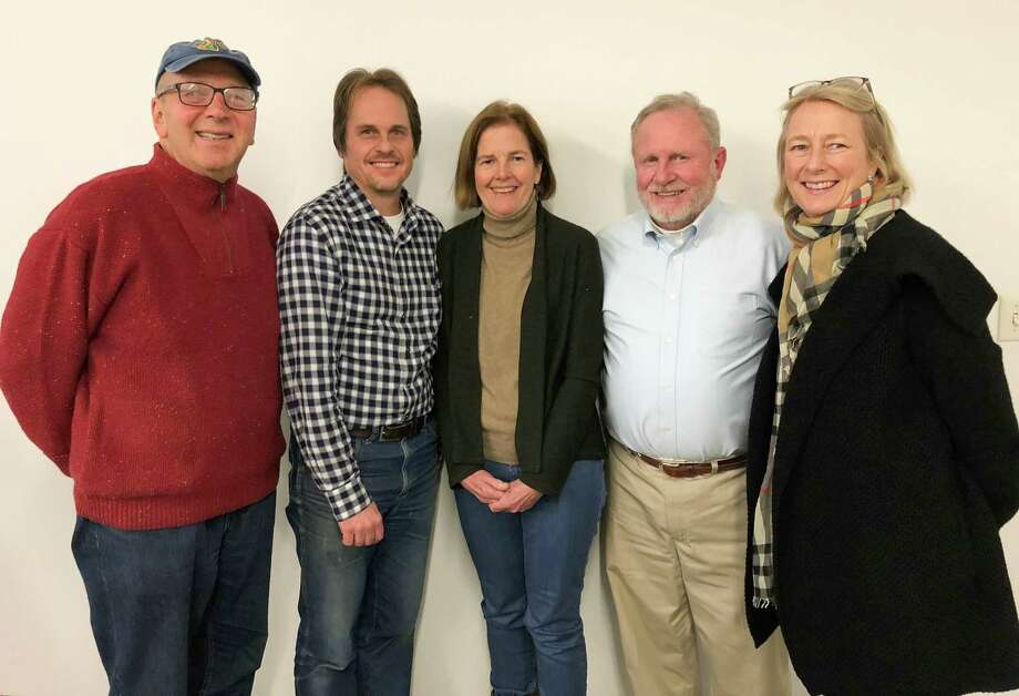 Four new members have been added to the Aspetuck Land Trust's board of directors: Tracy Pennoyer of Weston, Joe Schnierlein of Norwalk, Maria Dempsey of Weston and Robert McHugh of Fairfield. Photo: Photo By Nancy Moon