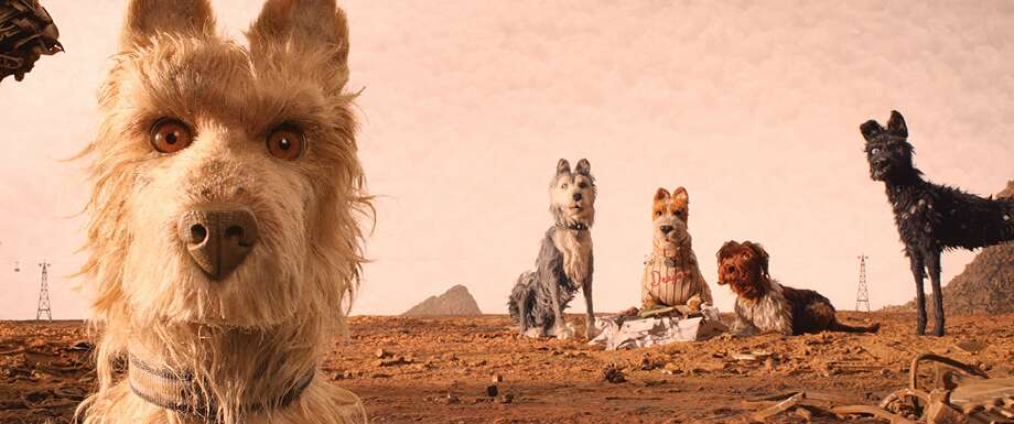 A scene from Wes Anderson's 'Isle of Dogs'