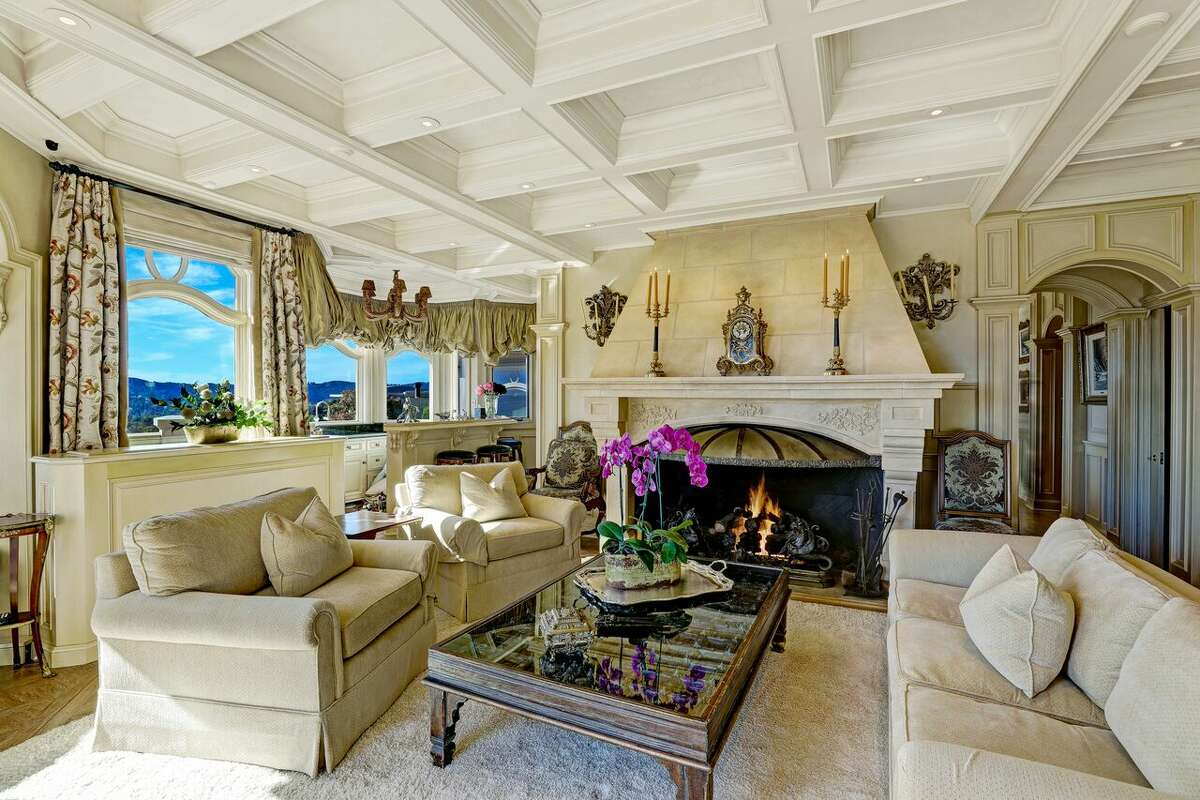 The French chateau-style of a $14 million estate in Tiburon was inspired by many trips to France.