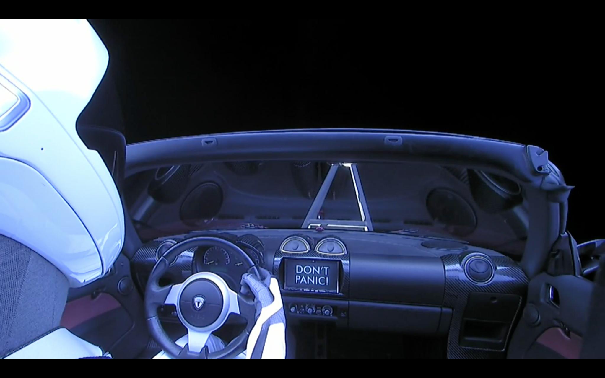 Resultado de imagem para spacex don't panic