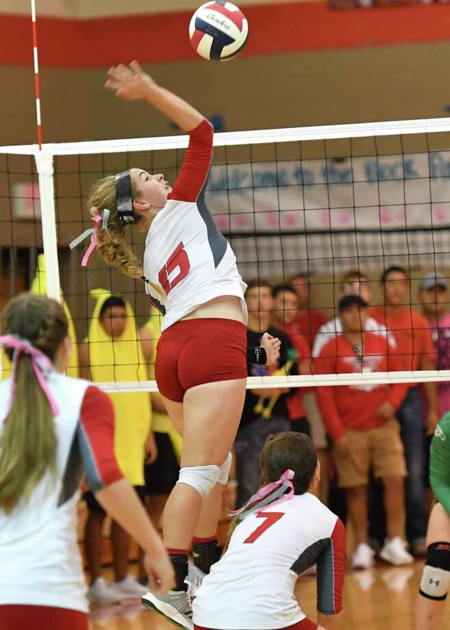 Volleyball player Delaney Ramsdell is also an accomplished singer. Photo: Courtesy Photo