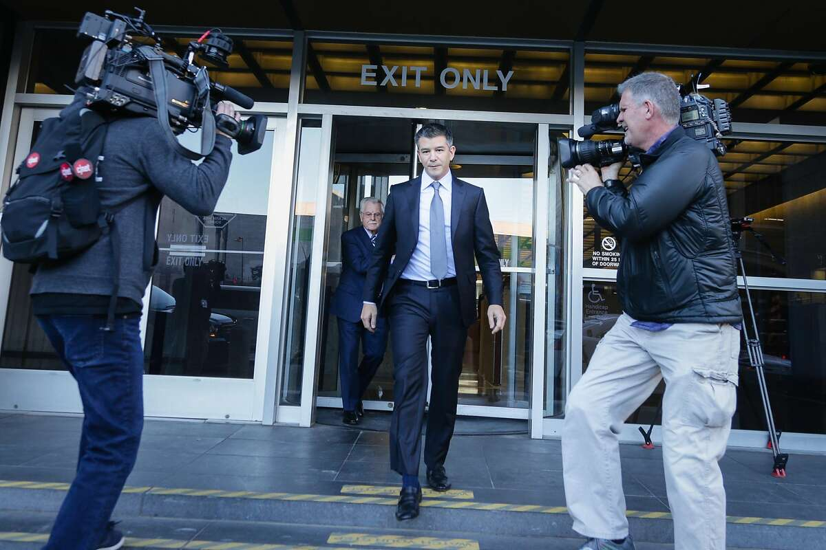 In February 2018, Uber agreed to pay Waymo $245 million worth of stock just days into a closely watched civil trial that revealed embarrassing inside information about Uber and saw its ousted CEO Travis Kalanick (pictured) on the witness stand.