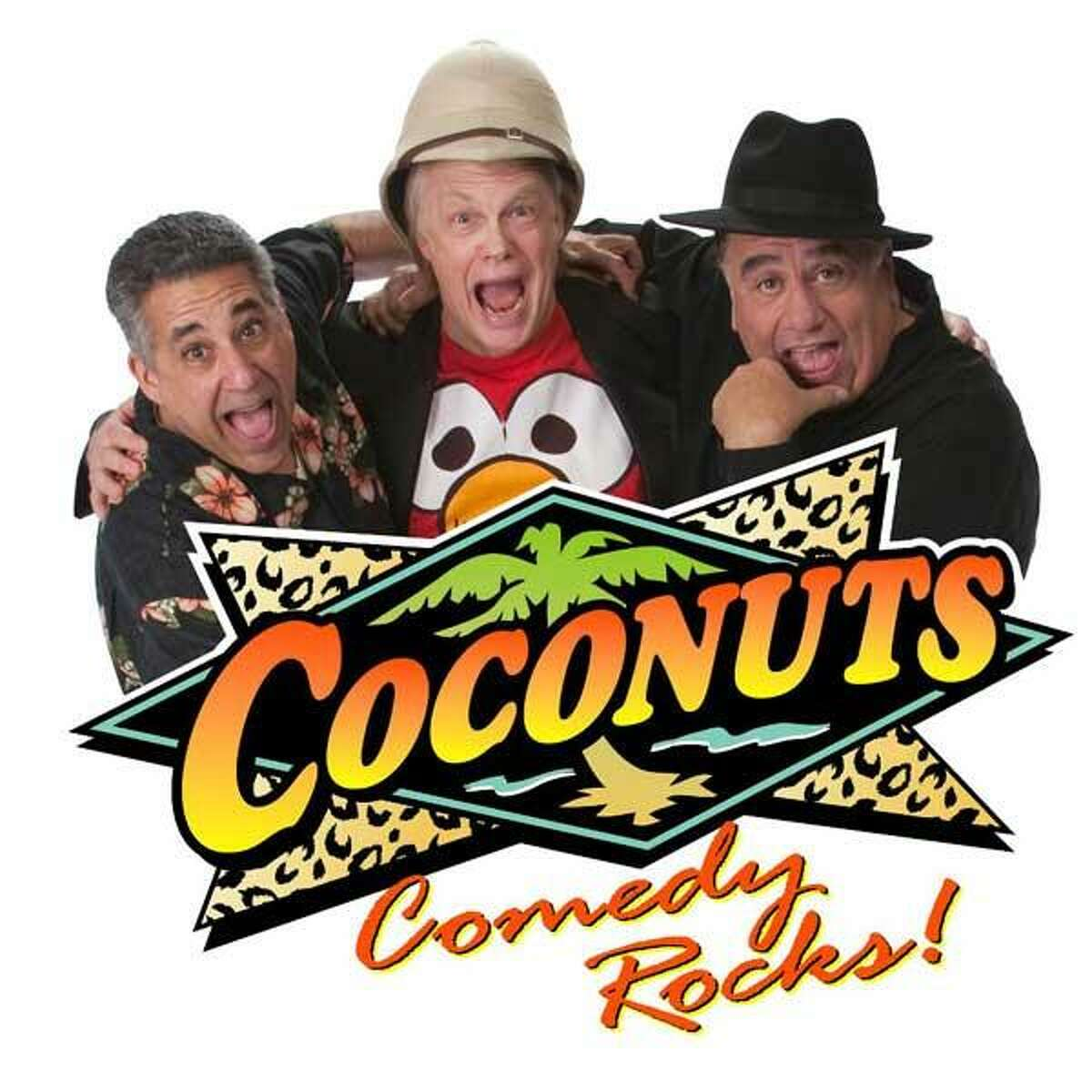 The Coconuts bring their unique brand of comedy to Middletown on Feb. 23.