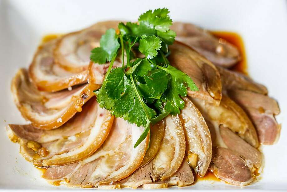 House Special Boiled Pork Shoulder at Beijing Restaurant in S.F. Photo: Gabrielle Lurie, The Chronicle
