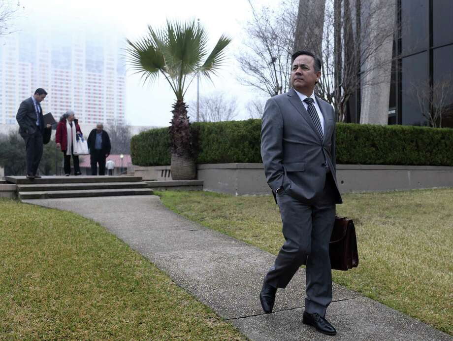 State Sen. Carlos Uresti is fighting 11 felony charges over his role in an oilfield company that defrauded investors. He served as the company's outside legal counsel, recruited investors and held a 1 percent in the enterprise. He has denied the charges. Photo: Jerry Lara /San Antonio Express-News / © 2018 San Antonio Express-News