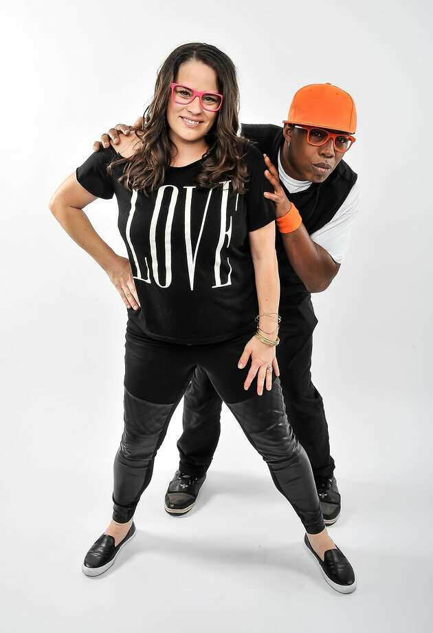 Kaitlin McGaw and Tommy Shepherd Jr. of Oakland's Alphabet Rockers. Photo: Steve Jennings
