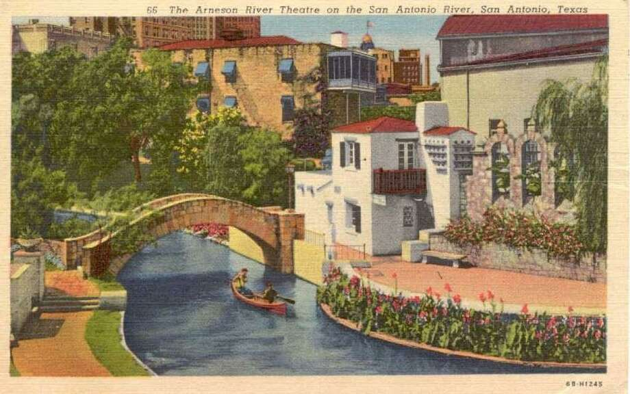 The stage for the Arneson River Theatre on the San Antonio River. Photo: Courtesy EdwardsAquifer.net