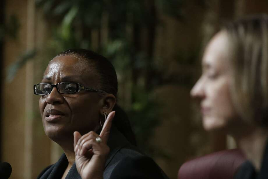 A controversial job-training proposal from Oakland City Councilwoman Desley Brooks narrowly failed to pass Tuesday at a council meeting. Photo: Paul Kuroda / Special To The Chronicle