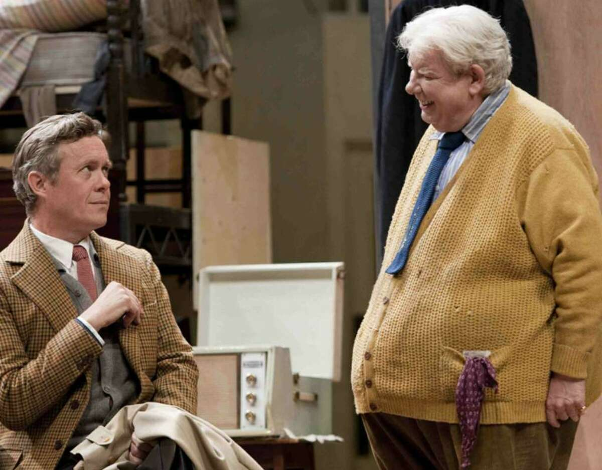 Alex Jennings, left, and Richard Griffiths are seen performing in Alan Bennett's new play