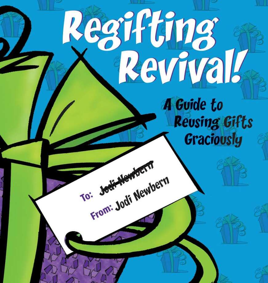"""Regifting Revival: A Guide to Reusing Gifts Graciously"" (Synergy Books) Photo: Mhollmann"