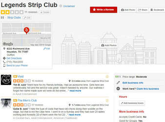 Undercover strip club sting involving lap dance from