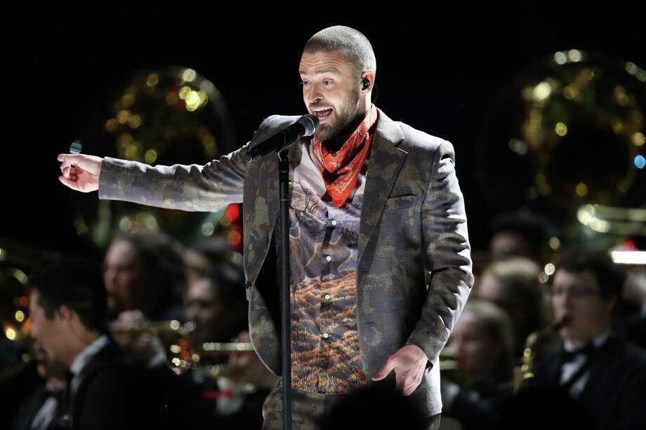 """Justin Timberlake, October 20, Times Union Center. The pop superstar is bringing his """"Man of the Woods Tour"""" to Albany. Photo: Christopher Polk, Staff / 2018 Getty Images"""