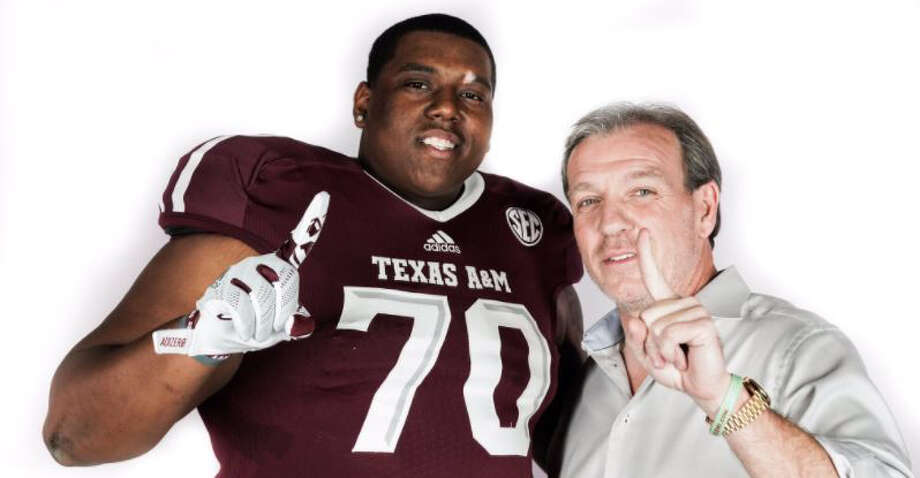 Texas A&M added another surprise inking to its National Signing Day lineup in offensive lineman Tank Jenkins of Montgomery, Ala. Photo: Tank Jenkins