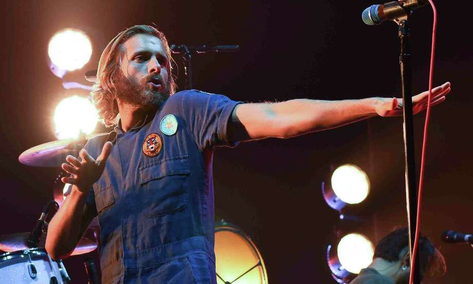 The band AWOLNation opened for the newly formed super group Prophets of Rage performed at the Mohegan Sun Arena in Uncasville, Conn., on Sunday, August 28, 2016. Photo: John Nash, Sports Reporter / Norwalk Hour