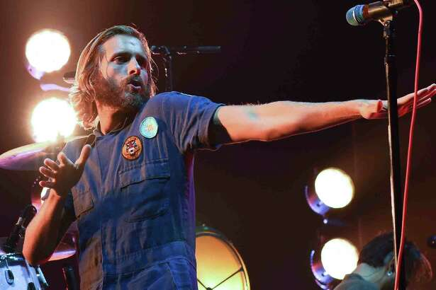 The band AWOLNation opened for the newly formed super group Prophets of Rage performed at the Mohegan Sun Arena in Uncasville, Conn., on Sunday, August 28, 2016.