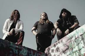 Rock trio Shields will perform at the Texas Rose Saloon. Photo courtesy of Shields