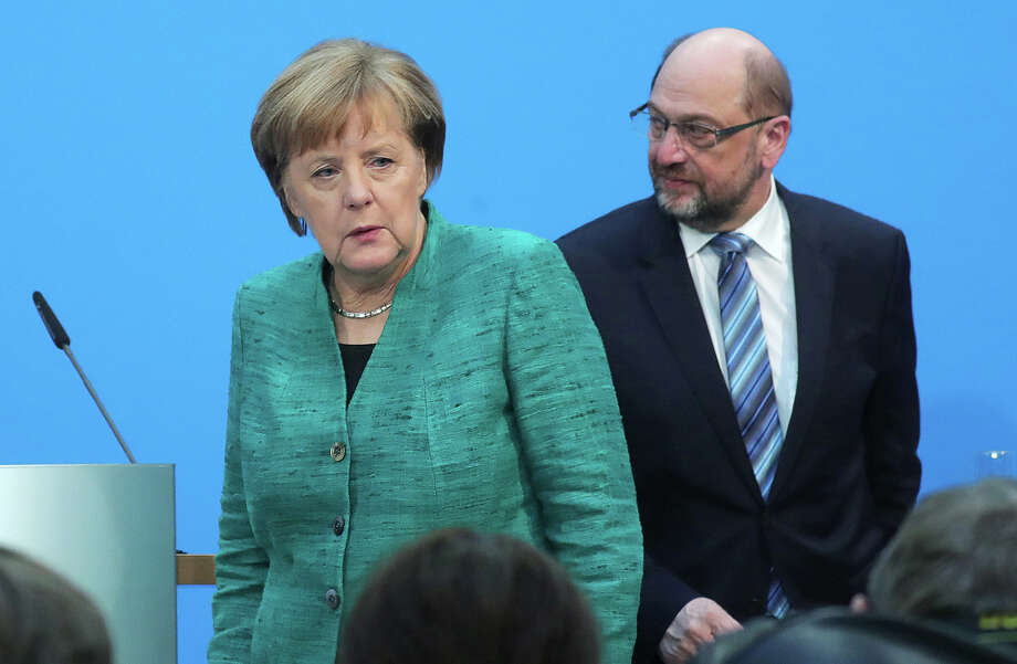 Geman Chancellor Angela Merkel ready for 'painful compromises' to seal government deal