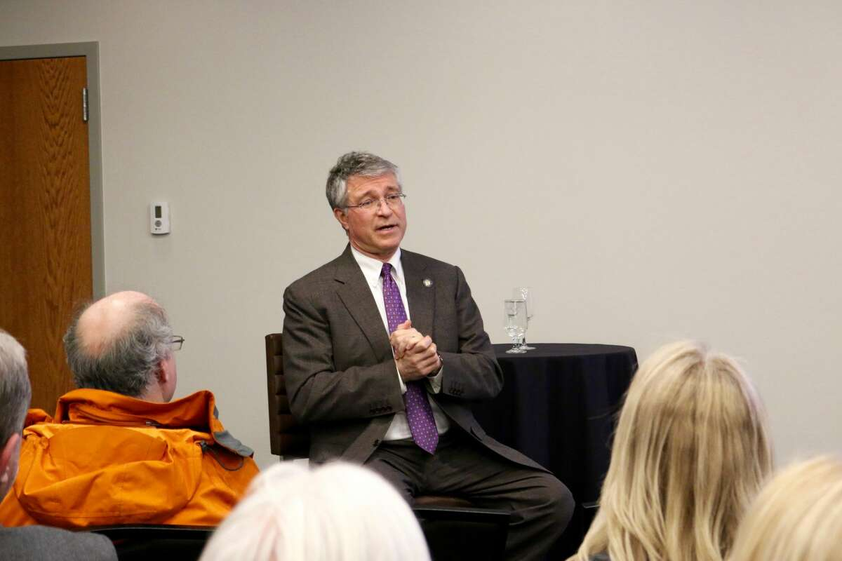 Were you Seen at the Hearst Media Center Capitol Confidential Issues Roundtable on Feb. 6, 2018, with state Assemblymembers Patricia Fahy, John T. McDonald III and Phil Steck and Senator Jim Tedisco?