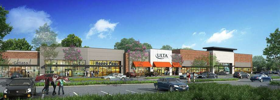 The Howard Hughes Corp. recently broke ground on Lake Woodlands Crossing, a 62,565-square-foot retail center at the northeast intersection of Lake Woodlands Drive and Grogan's Mill Road in The Woodlands Town Center. About 65 percent of the center preleased: Ulta Beauty (10,000 square feet), Stickhouse (1,875 square feet) and Main Squeeze Juice Co. (1,500 square feet). An additional 25,000-square-foot anchor retailer will be announced in the future. Photo: Howard Hughes Corp.