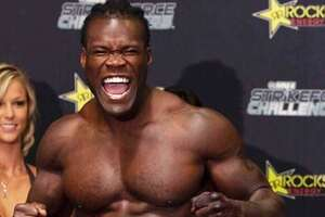"""Taft High grad Abongo Humphrey was well-prepared for his many """"Black Panther"""" action scenes because of his background in mixed martial arts and his experience with fighting group Strikeforce on Showtime."""
