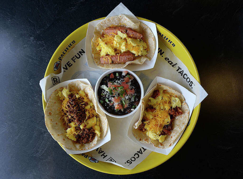 Breakfast tacos are among the featured items at R Taco on Dowlen Road in Beaumont. Photo taken Tuesday, February 6, 2018 Kim Brent/The Enterprise Photo: Kim Brent / BEN