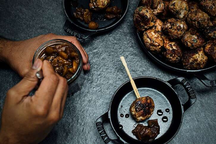 """Nik Sharma's Chronicle column, """"A Brown Kitchen,"""" is a finalist for the 2018 International Association of Culinary Professionals Awards."""