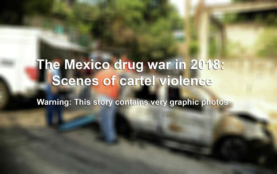 Warning: Gallery contains very graphic photosNearly 19,000 people were killed due to organized crime in Mexico in 2017, the most violent year in twenty years, according to a report revealed in January 2018 by the Mexican NGO Semaforo Delictivo. And the bloodshed appears to be continuing into 2018. Photo: FRANCISCO ROBLES/AFP/Getty Images