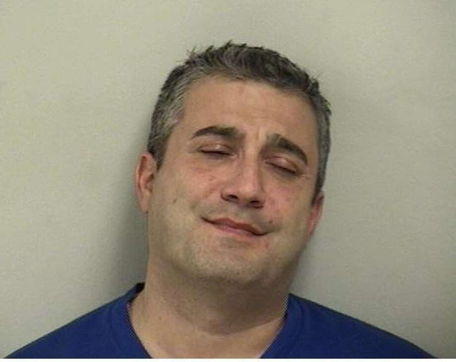 Shelton resident Luca Dore, 44, was arrested on charges of operating under the influence of drugs/alcohol and stop sign violation in Westport on Feb. 4. Photo: Contributed Photo