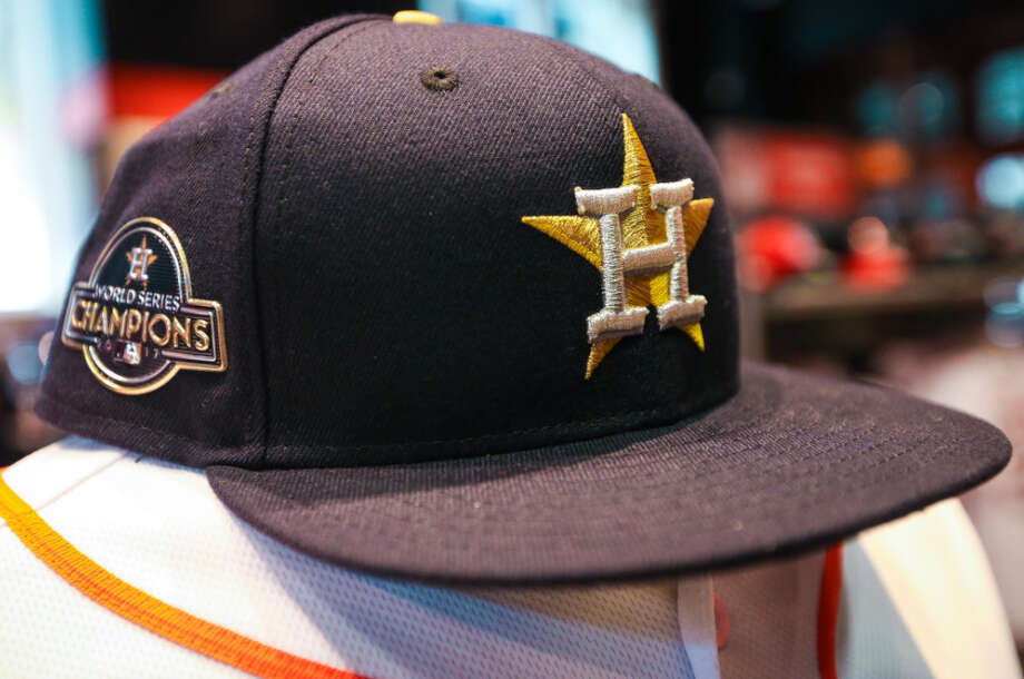 The Houston Astros will wear these special championship-themed jerseys for their first two home games of the season on April 2 and April 3 to celebrate last year's World Series.SHOP THE COLLECTION ONLINE NOW (click here) >>> Photo: Houston Astros