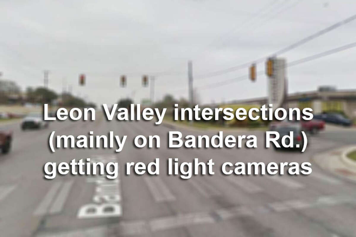 Leon Valley saw 1,111 crashes from December 2015 to February 2017 on Bandera Road, and began the activation of nine red light camera devices (mainly along Bandera) in January 2018. Click through to see which intersections are being targeted.
