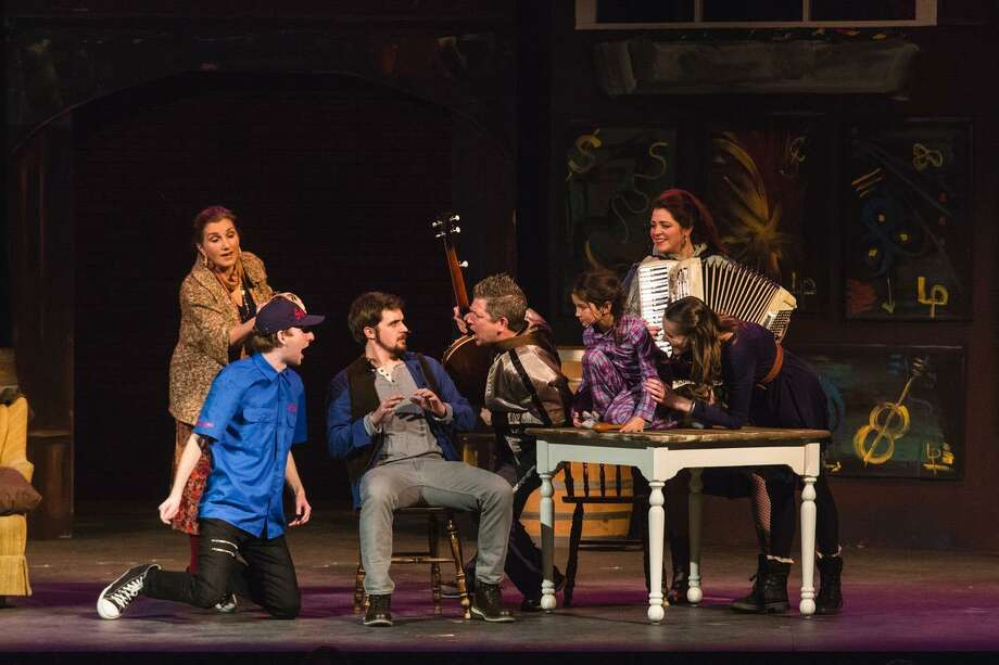"The Warner Stage Company wraps up its run of the musical ""Once"" this weekend. Photo: Contributed Photos / http://www.mandimartini.com"