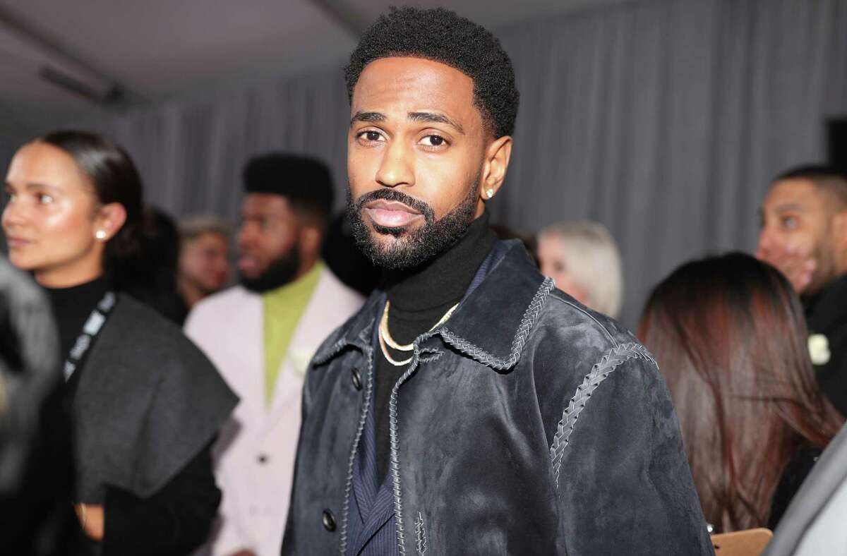 NEW YORK, NY - JANUARY 28: Recording artist Big Sean qattends the 60th Annual GRAMMY Awards at Madison Square Garden on January 28, 2018 in New York City.