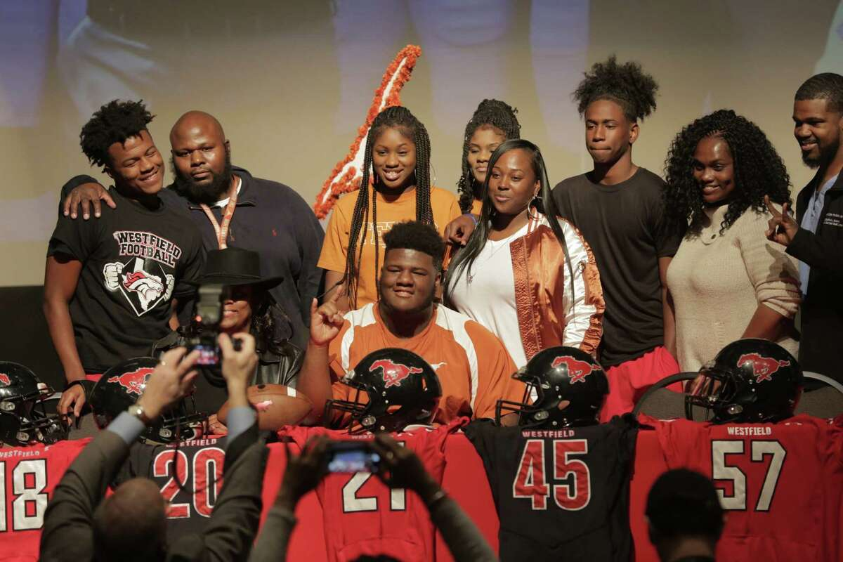 PHOTOS: College football recruiting team rankings after National Signing Day Westfield High School's Keondre Coburn was a big signing for the University of Texas on Wednesday and helped bolster their recruiting ranking. Browse through the photos above for a look at the college football recruiting team rankings after National Signing Day.