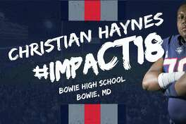 Christian Haynes signed a letter of intent with UConn on Wednesday, Feb. 7, 2017.