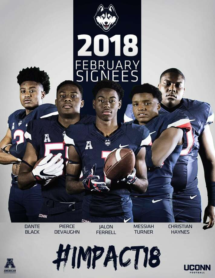 UConn secured national letters of intent from five players Wednesday on the first day of the late signing period, giving the program 24 members of the incoming freshman class. Photo: UConn
